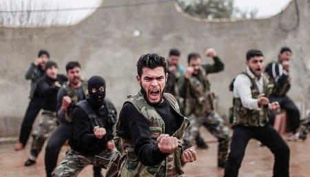 Al-Nusra är kända för sin otroliga diciplin. Medlemmarna strider tills de stupar. Foto: Flickr/FreedomHouse/CC BY 2.0