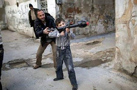 Det är generationen som växer upp i dagens Syrien som påverkas mest av inbördeskriget. Foto: Flickr/FreedomHouse/CC BY 2.0