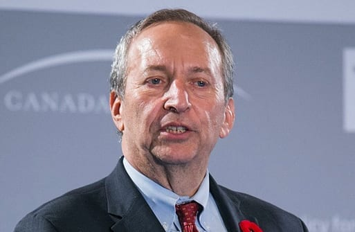 Larry Summers. Foto: Flickr/canada.2020/CC BY-NC-ND 2.0