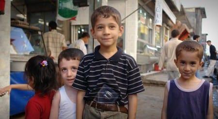 Kurdiska barn i Diyarbakir. Foto: charlesfred/CC BY 2.0
