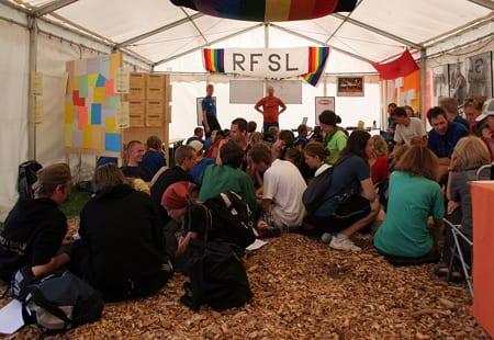 RFSL-seminarium i Rinkeby. Foto: David Castor