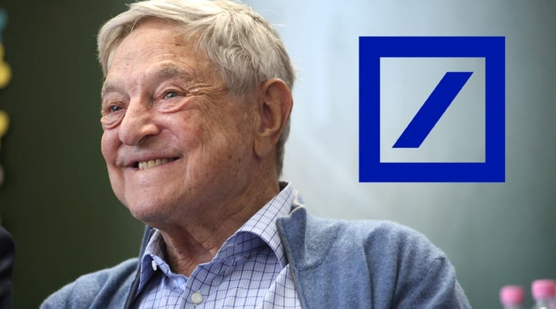 George Soros miljardblankade Deutsche Bank