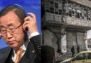 Ban Ki-moon: Situationen i Aleppo är värre än ett slakthus