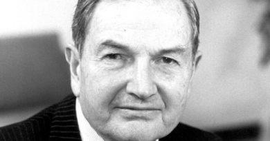 David Rockefeller är död
