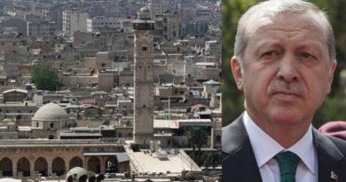 Erdoğan: Mosul och Aleppo tillhör turkarna