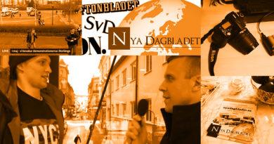 Nya Dagbladet bygger redaktionslokal – stöd insamlingen!