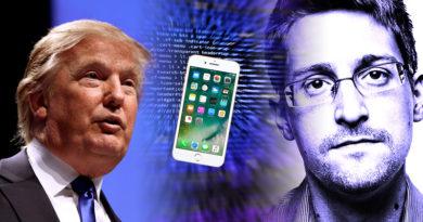 """Snowden: NSA kan ha avlyssnat Trump genom """"reverse targeting"""""""