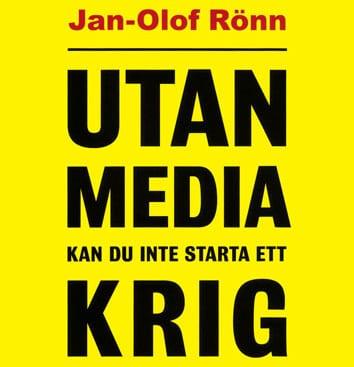 Mediaexpert föreläser om media och krigföring