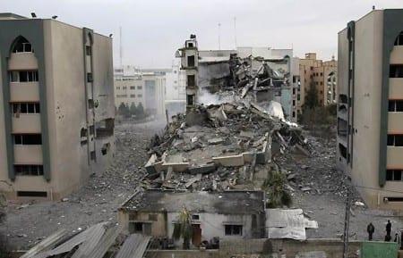 Israeliska flyganfall träffar ofta fel och drabbar istället civila i Gaza. Foto: Flickr/Worker Party Ireland/CC BY-NC-SA 2.0