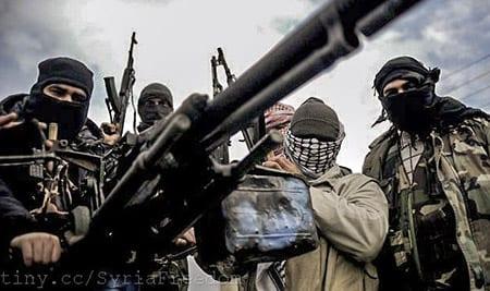 Rebellstyrkorna krigar mot trupper lojala till Syriens president Bashar al-Assad. Foto: Flickr/FreedomHouse/CC BY 2.0