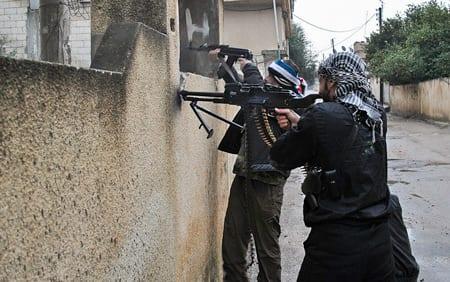 FN: Rebellerna använder saringas
