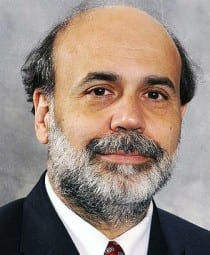 Ben Bernanke. Foto: Wikimedia Commons/Federal Reserve