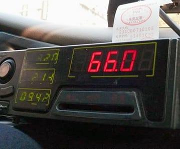 Taxibolag fuskar med taxametrarna