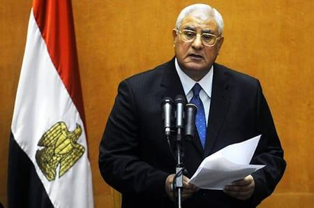 Egyptisk regering börjar ta form