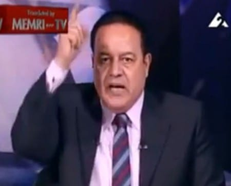TV-ankare sade upp sig i protest mot den egyptiska regeringen