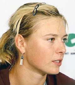 Maria Sharapova. Foto: Flickr/Tommy Low/CC BY-NC 2.0