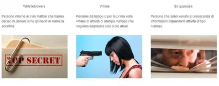 Mafialeaks ska hjälpa visselblåsare att avslöja maffian