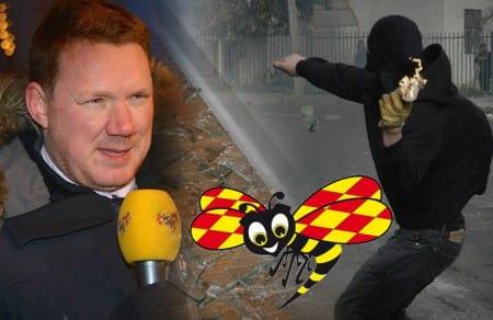 """Niklas Svensson: """"Expressen har kopplingar till våldsvänstern"""""""