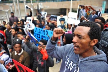 Israeliska afrikaner tas om hand av Sverige