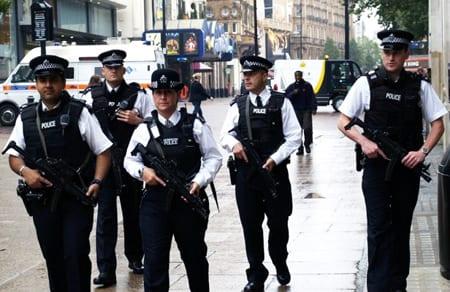 Nu ska engelsk polis bära kameror