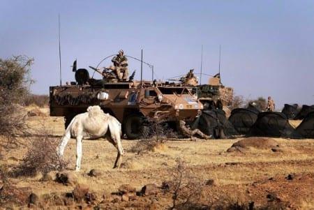 Svensk militär till Mali