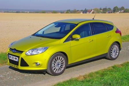 Ford Focus bjuder på säkra vägegenskaper