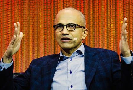 Han blir Microsofts nya vd