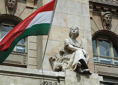 Den ungerska centralbankens huvudkontor i Budapest. Foto: Flickr/Kevin Anderson/CC BY-NC-SA 2.0