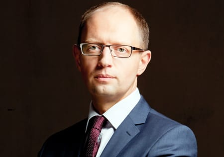 Ukrainas premiärminister gästade Vita huset