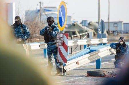 Ukraina sätter in militären mot separatister