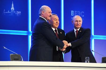 Historisk union mellan Ryssland, Kazakstan och Vitryssland