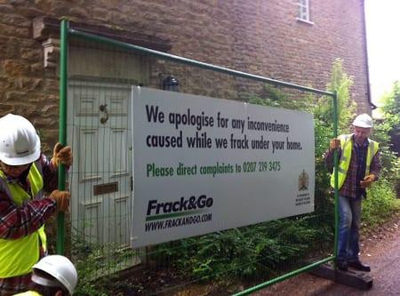 """David Camerons hus blev """"frackat"""""""