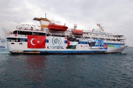 Svenska Ship to Gaza bordat av Israel
