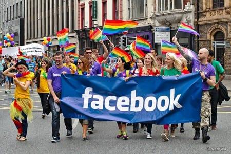 """""""Regnbågsbilder ett nytt experiment av Facebook"""""""