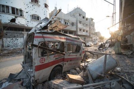 FN: Gaza kan vara obeboeligt 2020