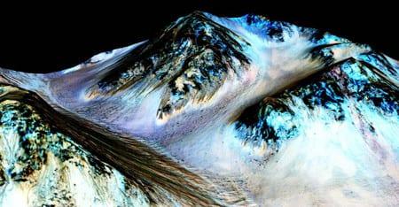 Nasa: Finns vatten på Mars