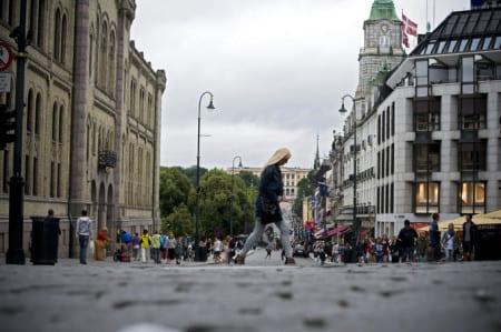 Oslo centrum ska bli bilfritt