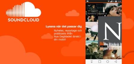 Följ Nya Dagbladet på Soundcloud – få vår radio i din mobil