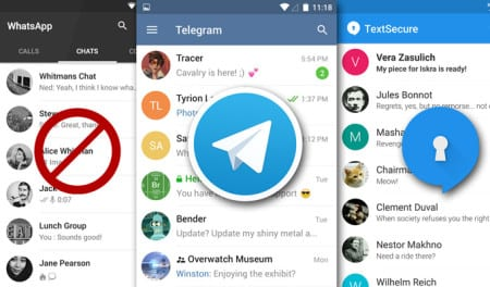 Dags att kasta ut Whatsapp ur telefonen – Telegram tar ditt privatliv på allvar