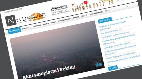 Nu lanseras Nya Dagbladet 2.0!