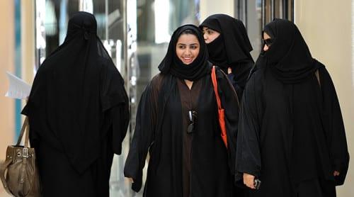 Första kvinnliga politikerna i Saudiarabien