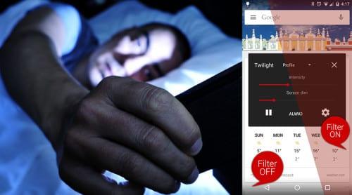 Skydd mot blått ljus – nu även i din mobil