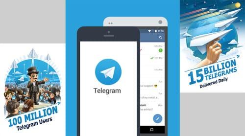 Integritetsvänliga meddelandeappen Telegram når 100 miljoner användare