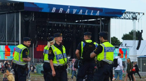 Polisen vill utöka kameraövervakningen på festivaler