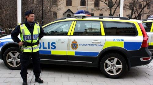Flera attacker mot polis i Nyköping