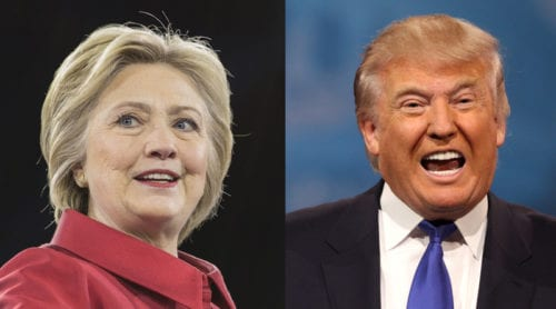 Första debatten i natt: Clinton mot Trump