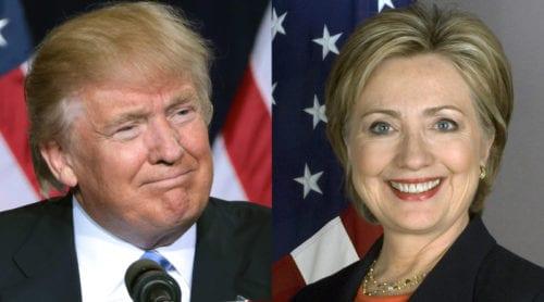 I natt ställs Trump och Clinton mot varandra för första gången
