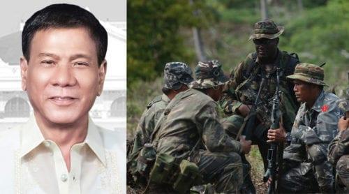 Filippinernas president vill skicka ut USA:s trupper ur landet