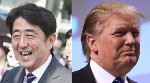 Shinzo Abe har förtroende för Trump