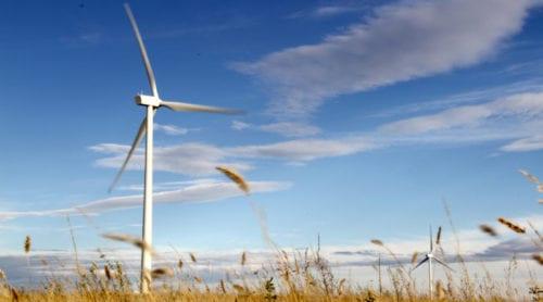 Gamla vindkraftverk exporteras